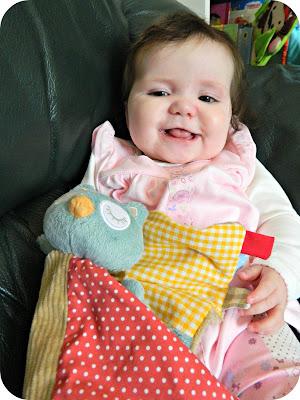 Baby Girl Owl Comforter Kiddicare