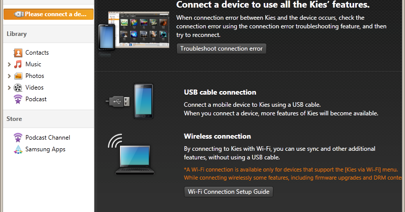 how to download samsung drivers