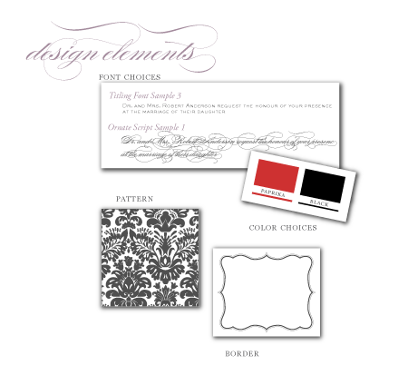 red black damask wedding candy buffet photo booth water label diy printable