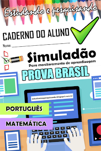 CADERNO - SIMULADÃO PROVA BRASIL