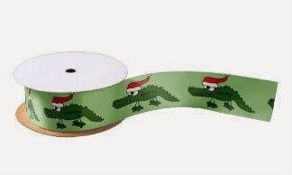 zazzle alligator ribbon
