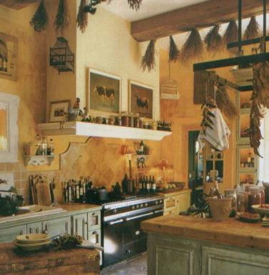 C 39 est si bon la joie de vivre 06 28 13 for French country green kitchen