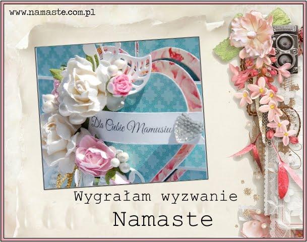 Wygrałam w Namaste