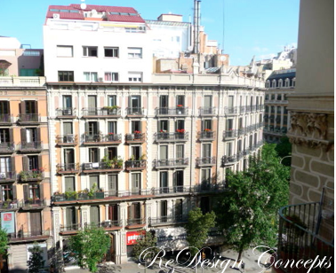 Balconies of Barcelona