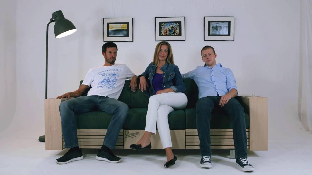 bbdo zagreb's beautifully designed staropramen beer sofa | adstasher - Bubble Sofa Von Versace