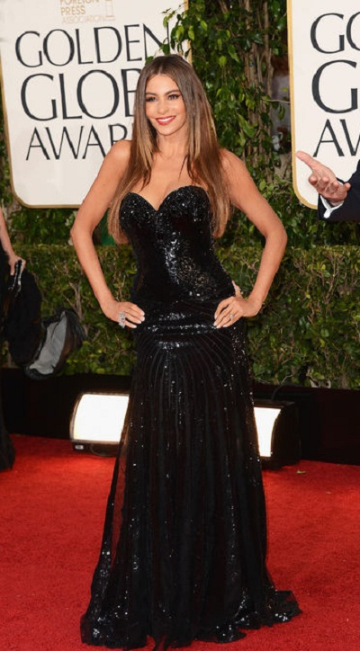 Celebrity fashion at Golden Globe Red carpet 2013