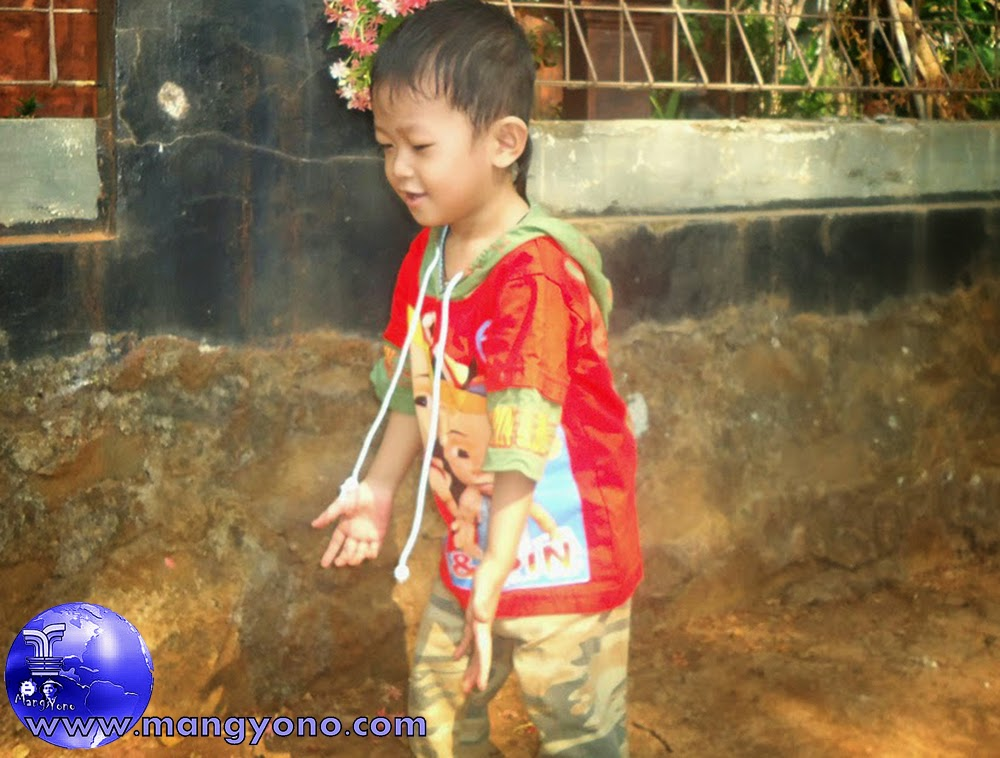 Poto Gigin, Umur 2,5 Tahun