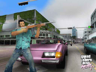 GAME Grand Theft Auto Vice City (GTA) (GAME FOR PC) Rip Version