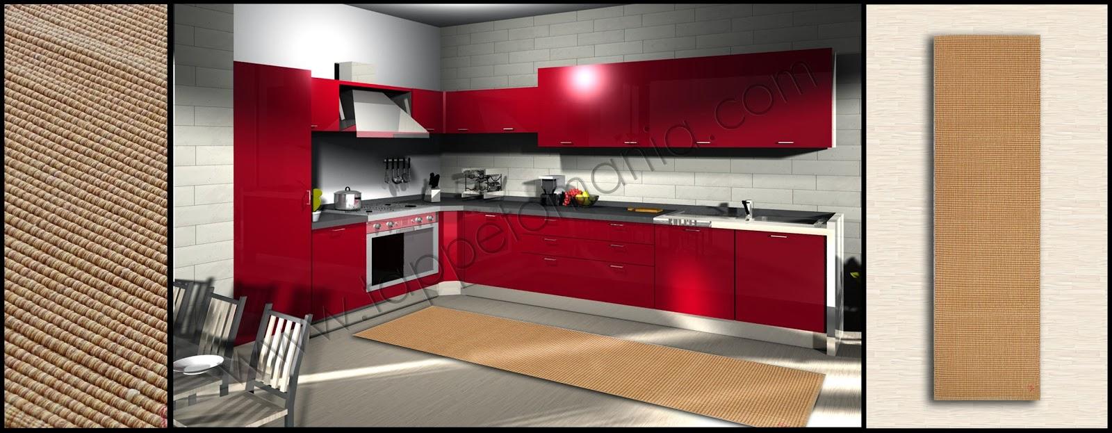 Tappeti cucina country idee per il design della casa - Vernici lavabili per cucina ...