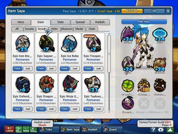 Bug Peso + Gear Perm Edisi 13 April