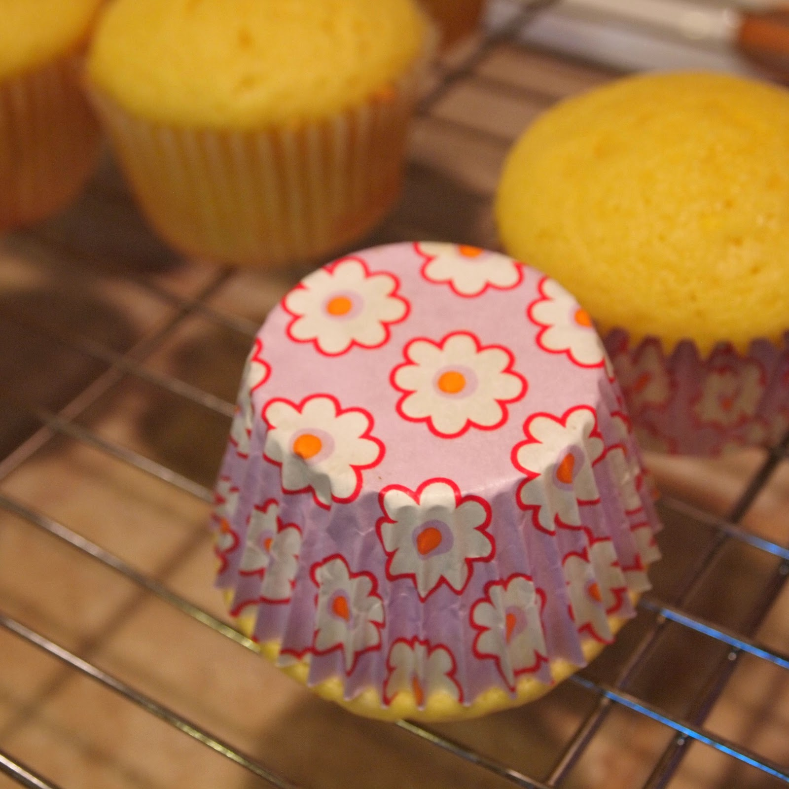 Fluffy White Cupcake Recipe