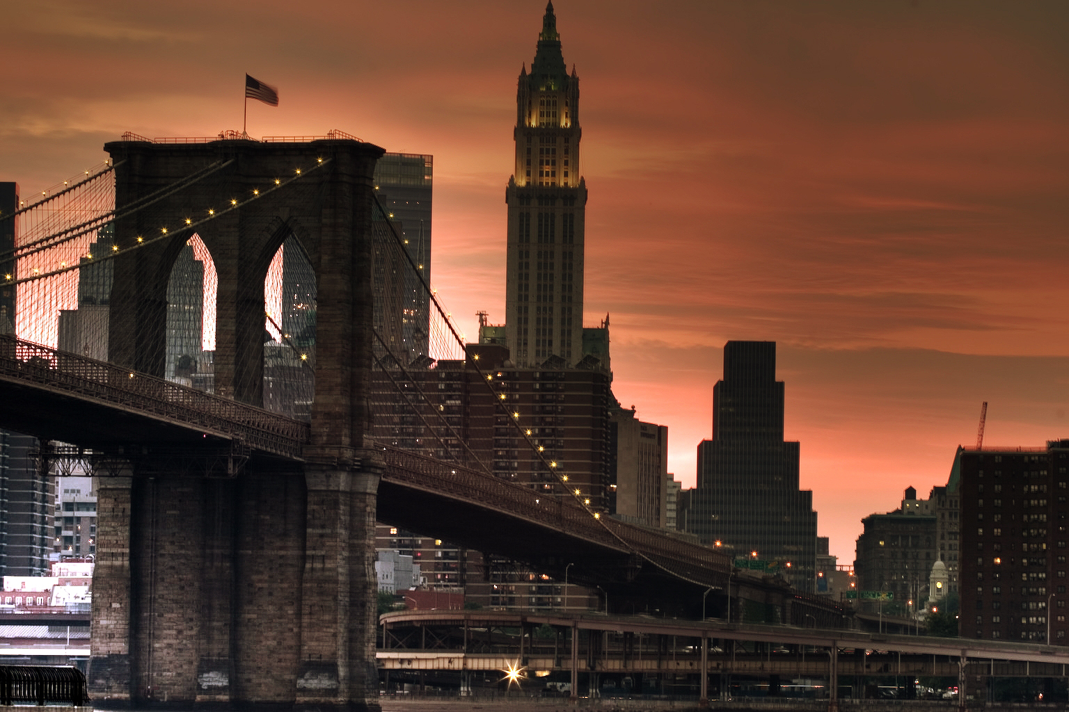 world visits brooklyn bridge remarkable piece of architecture in new york. Black Bedroom Furniture Sets. Home Design Ideas