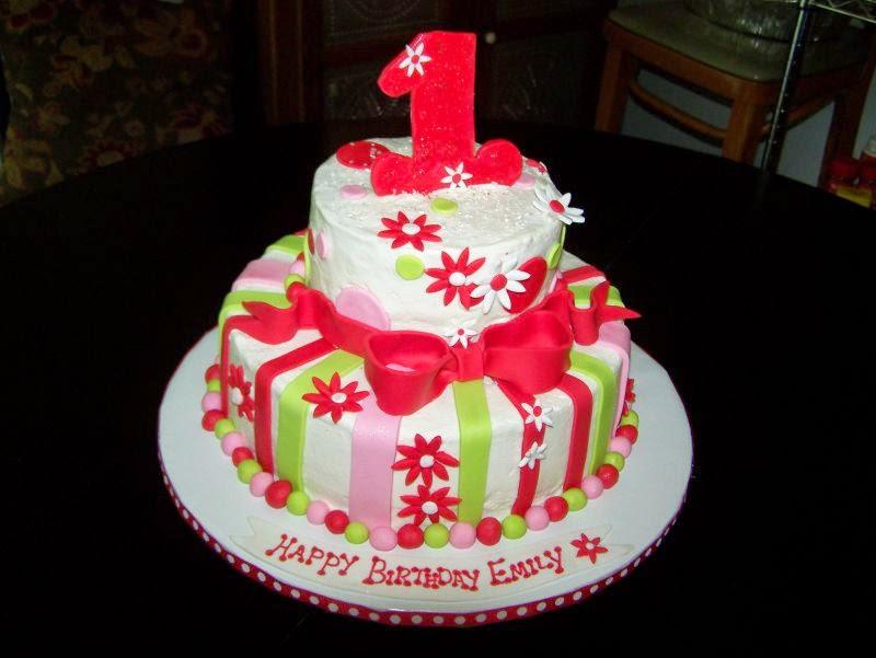 Contoh kue ulang tahun anak lucu dan menarik