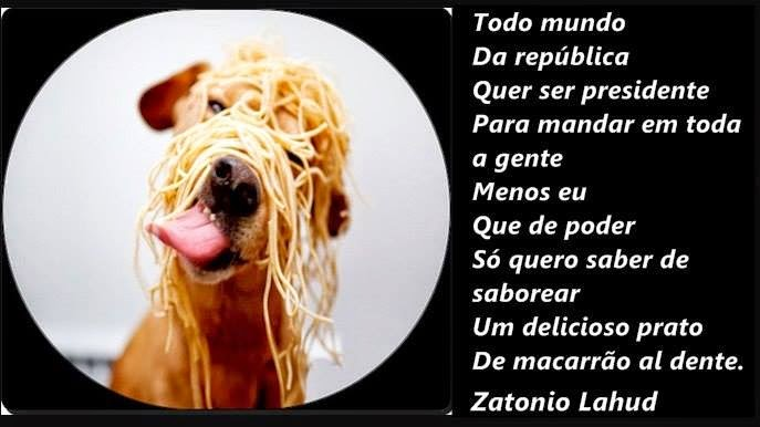 Poema do Macarrão