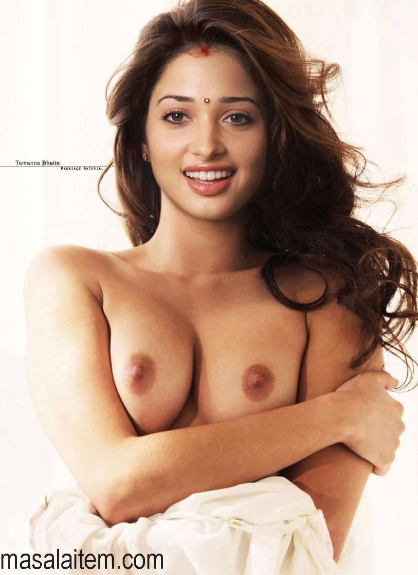 Tamanna's naked breasts look so sexy. Check out the erotic boobs of Tamanna ...