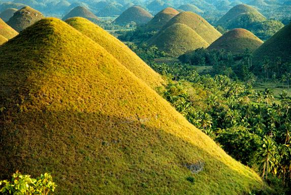 Шоколадные холмы,Бохол,Филиппины,отдых на Филиппинах