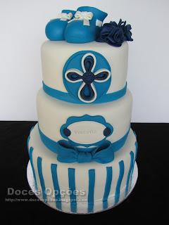 gâteaux du baptême doces opções