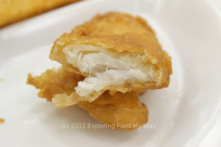Interior of Fried Cod