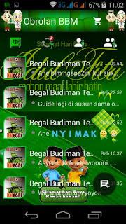 BBM Mod Lebaran Ketupat apk screenshot
