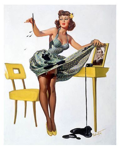 vintage 50s pin up girls 50 39 s pin up girls. Black Bedroom Furniture Sets. Home Design Ideas