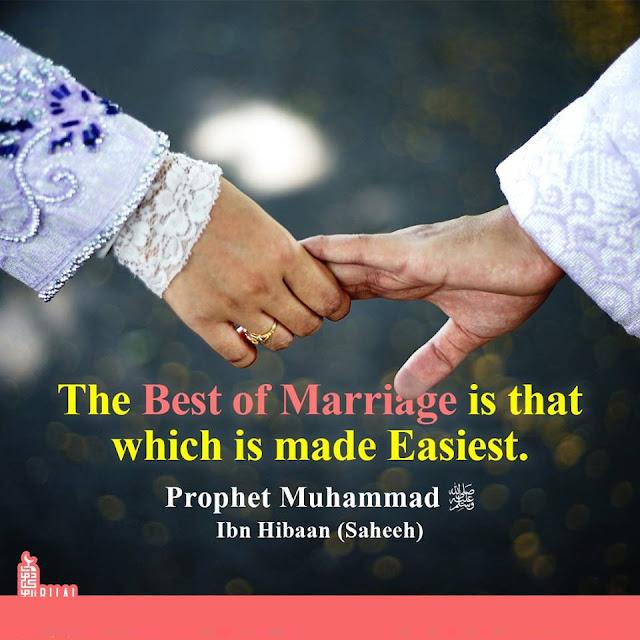 Marriage process in islam