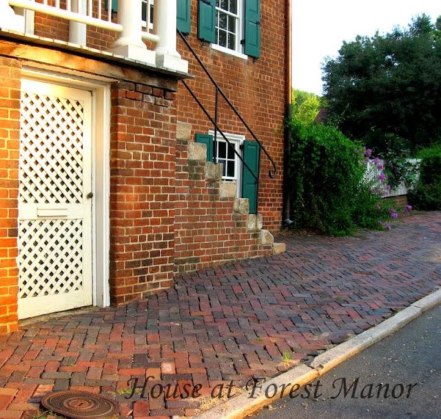 House At Forest Manor: Old Salem, North Carolina