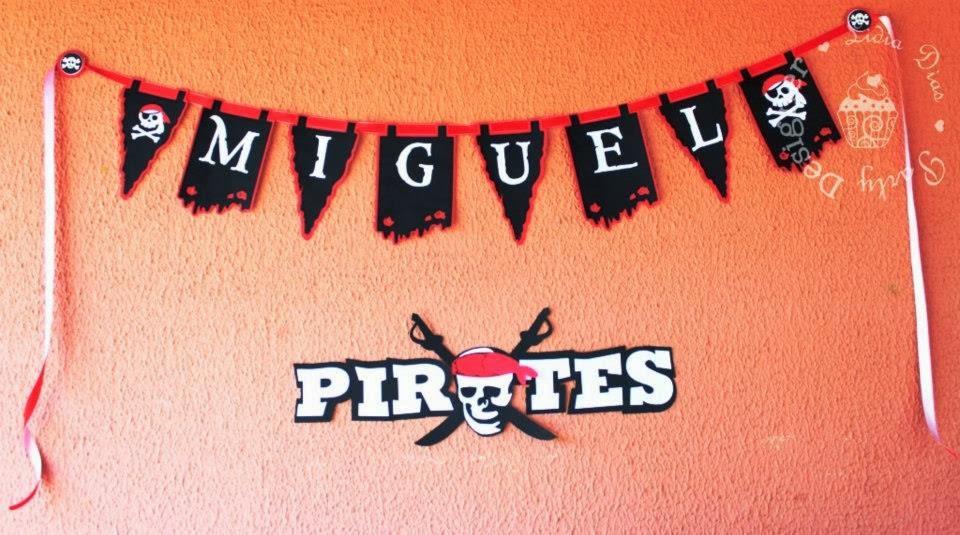 Pirata - Aniversário do Miguel
