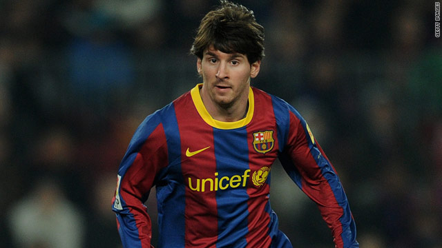 Messi finishes as top-scorer of the 2011-12 Champions League with ...
