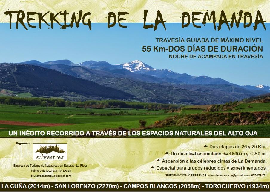 TREKKING GUIADO DE LARGA DISTANCIA