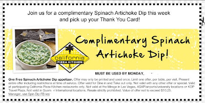 California pizza kitchen restaurant printable coupons