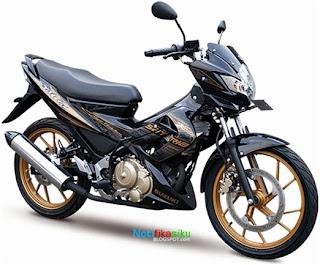 Striping Terbaru Suzuki Satria FU 2012