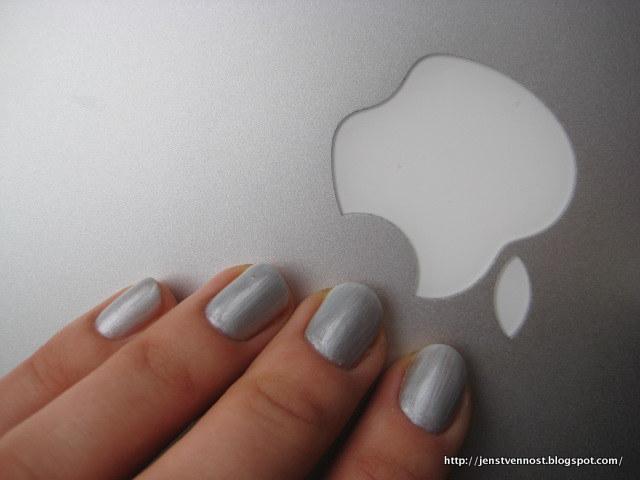 cnd shellacquot silver chrome color shellac power polish