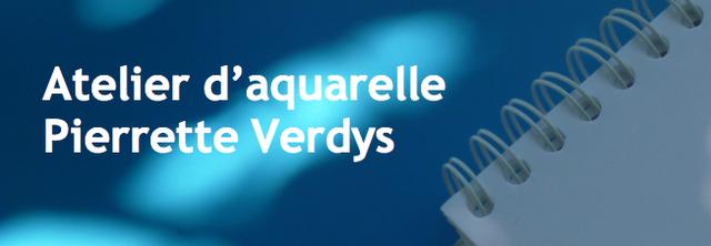 Atelier d'aquarelle Pierrette Verdys