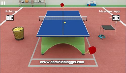 Juega Virtual Table Tennis en tu telefono movil gratis
