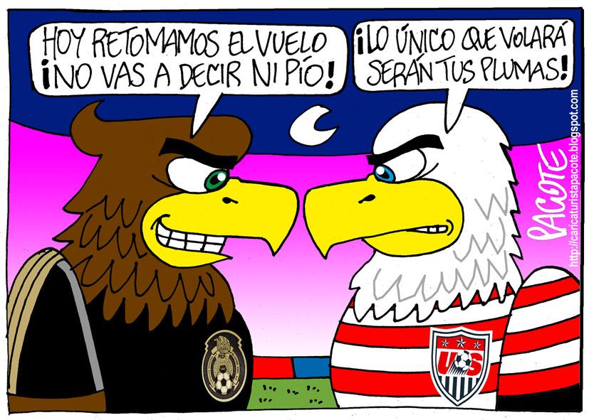 Mexico y Estados Unidos Banderas México vs Estados Unidos