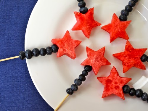 Red, White & Blue 4th of July Snack Ideas