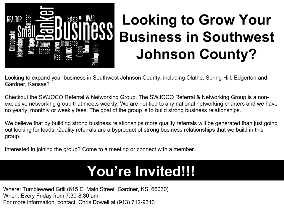 SWJOCO Referral & Networking Group