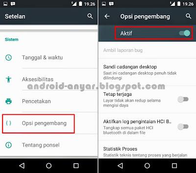 Cara Mudah Aktifkan Opsi Pengembang di Android One