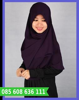 Jilbab segi empat grosir