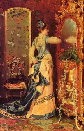 femeie-in-fata-oglinzii-luis-alvarez-catala