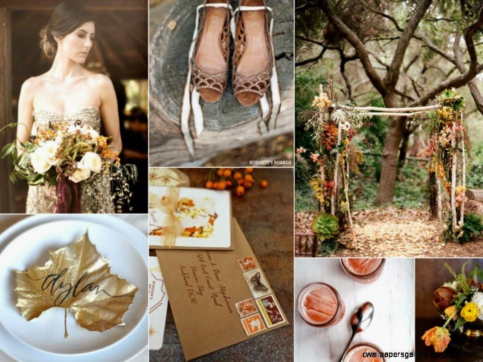 Autumn Wedding Palette  Burnett39s Boards   Daily Wedding Inspiration