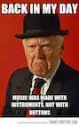 THE MUSIC CURMUDGEON