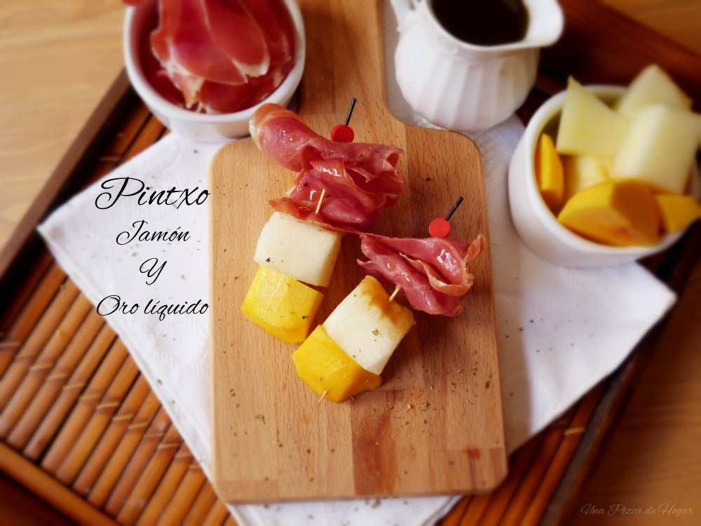 receta-pincho-jamón-fruta