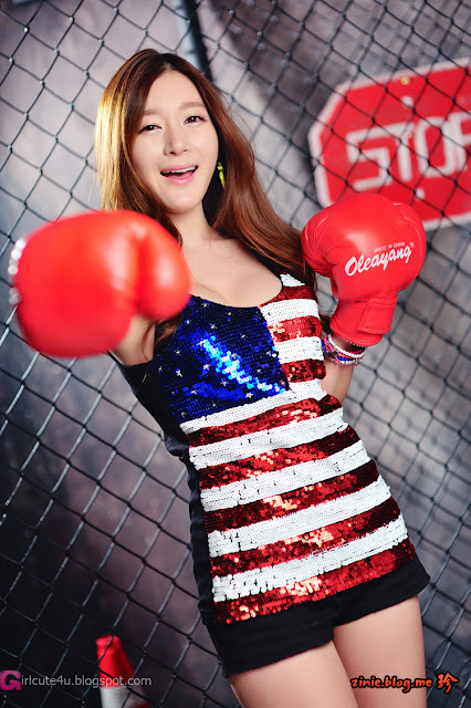 1 Han Ji Eun - The Fighter-Very cute asian girl - girlcute4u.blogspot.com