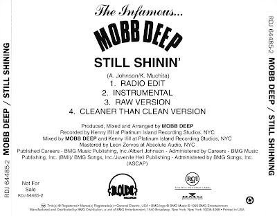 Mobb Deep – Still Shinin' (Promo CDS) (1995) (320 kbps)