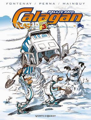 Calagan: Rallye Raid Tome 3