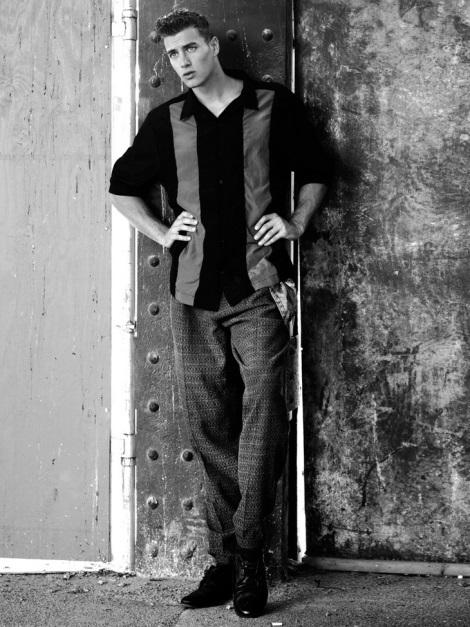 Norbi Novak portrait session by Joseph Bleu
