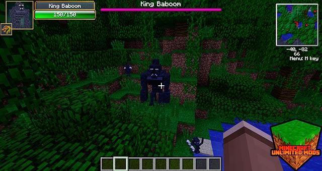 TragicMC Mod king baboon