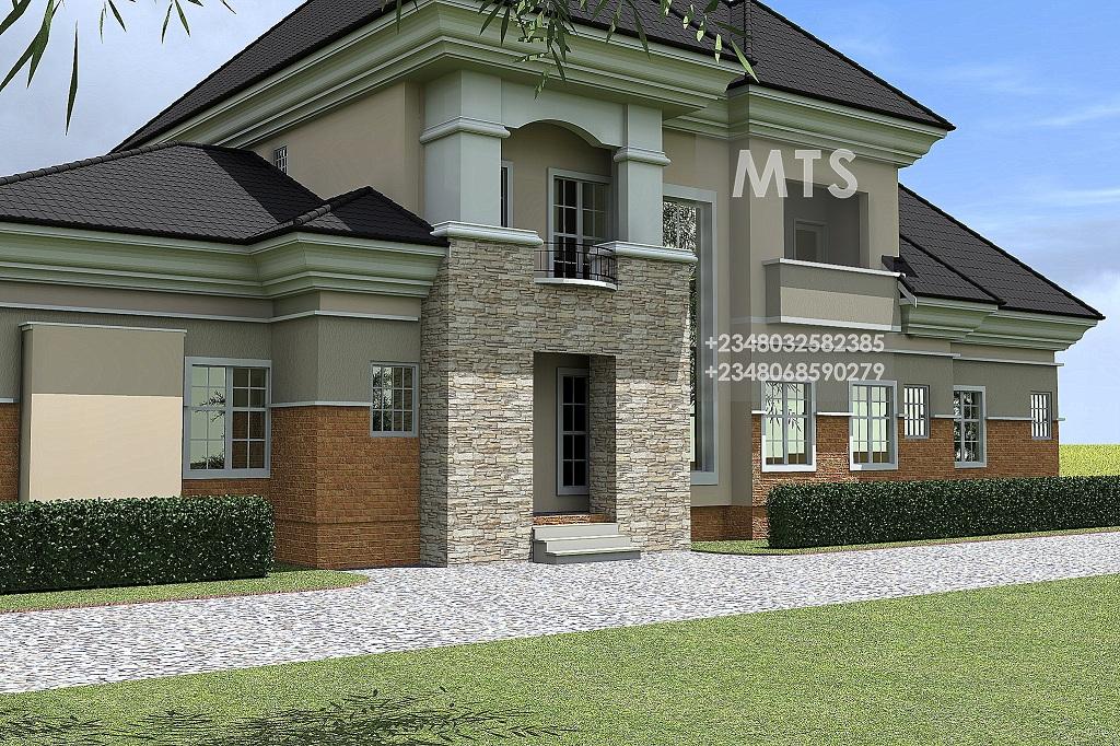 6 bedroom duplex house plans in nigeria for Nigerian architectural designs duplex