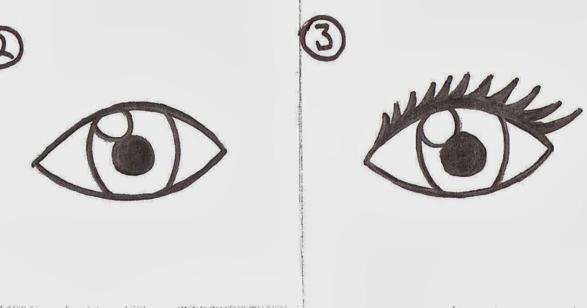 Le troubadour comment dessiner un oeil - Dessiner le vent ...